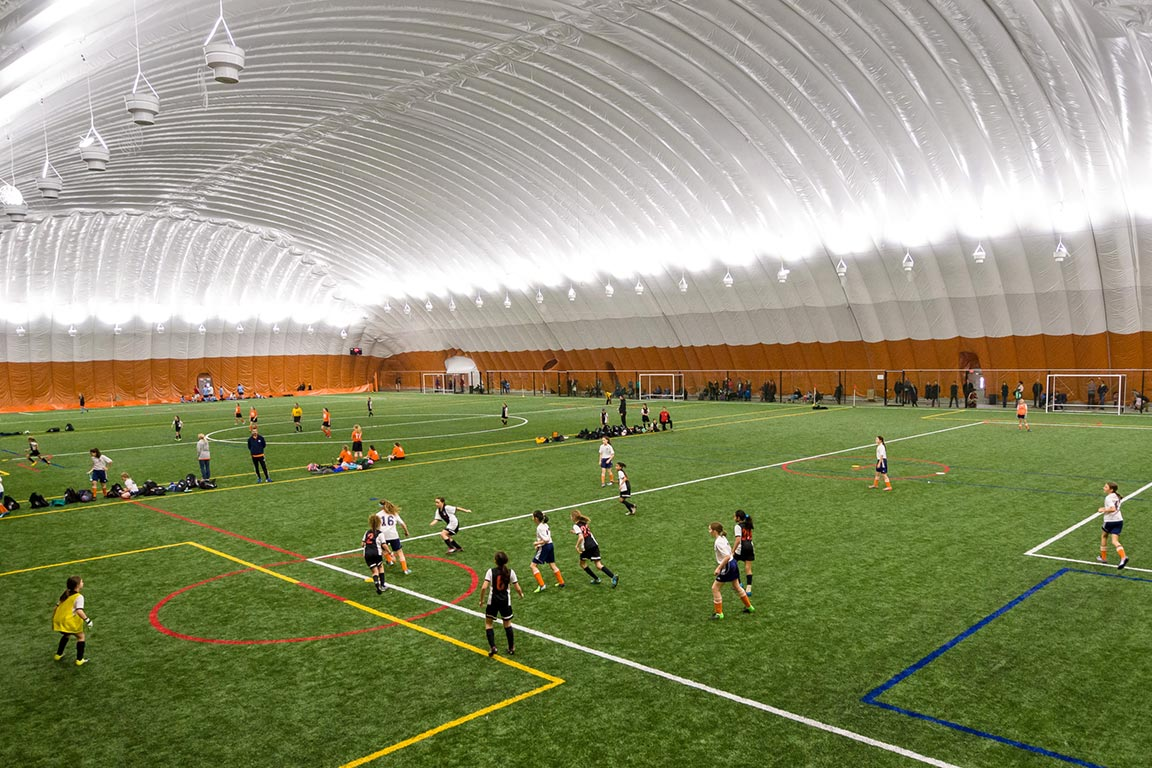 An Inflatable Sports Dome Means You Play More! - Yeadon Domes